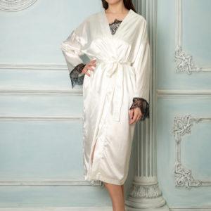Халаты с кружевом